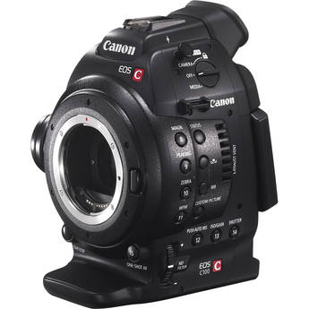 Canon EOS C100 Cinema EOS Camera with Dual Pixel CMOS AF (Body Only)