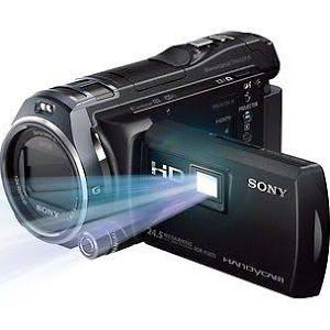 Sony 64GB HDR-PJ820E Full HD Handycam Camcorder with Built-in Projector (PAL Black)
