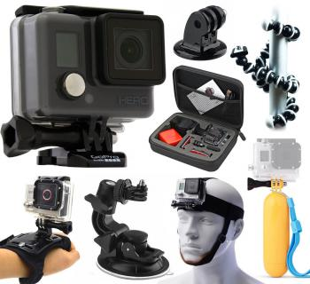 GoPro Hero Action Waterproof Camera Beginners Bundle