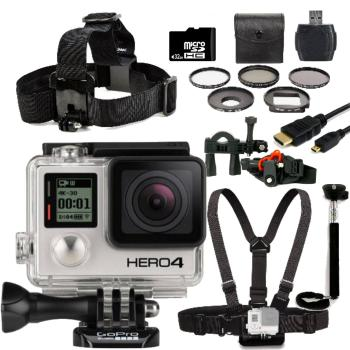 GoPro Hero4 Silver Edition + Bike Kit Bundle
