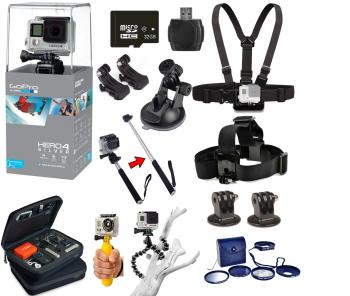 GoPro HERO4 Session + Accessory Bundle