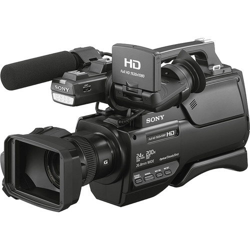 Sony HXR-MC2500E PAL Shoulder Mount AVCHD Camcorder