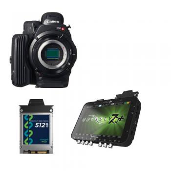 Canon EOS C500 4K Cinema Camera (EF Mount)+ Convergent Design Odyssey7Q+ OLED Monitor & Recorder Producers Package
