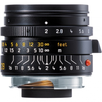 Leica Summicron-M 28mm f/2.0 Lens (6-Bit Manual Focus)