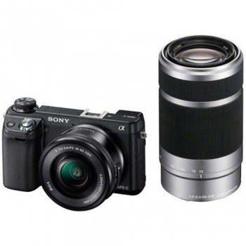 Sony Alpha NEX-6 Digital Camera 16-50mm + 55-210mm Twin Kit (NEX6)