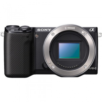 Sony Alpha NEX-5R Mirrorless Digital Camera (Body Only)(Black)(NEX5R)