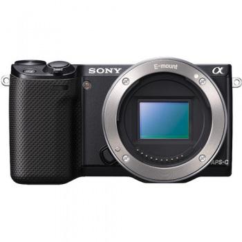 Sony Alpha NEX-5R Mirrorless Digital Camera (Body Only)(Black)(NEX5R)
