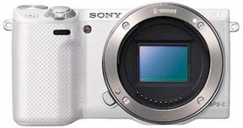 Sony Alpha NEX-5R Mirrorless Digital Camera (Body Only)(White)(NEX5R)