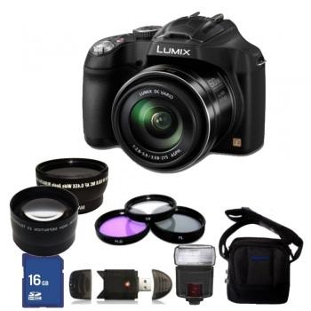 Panasonic Lumix DMC FZ70/FZ72 Digital Camera + Accessory Bundle