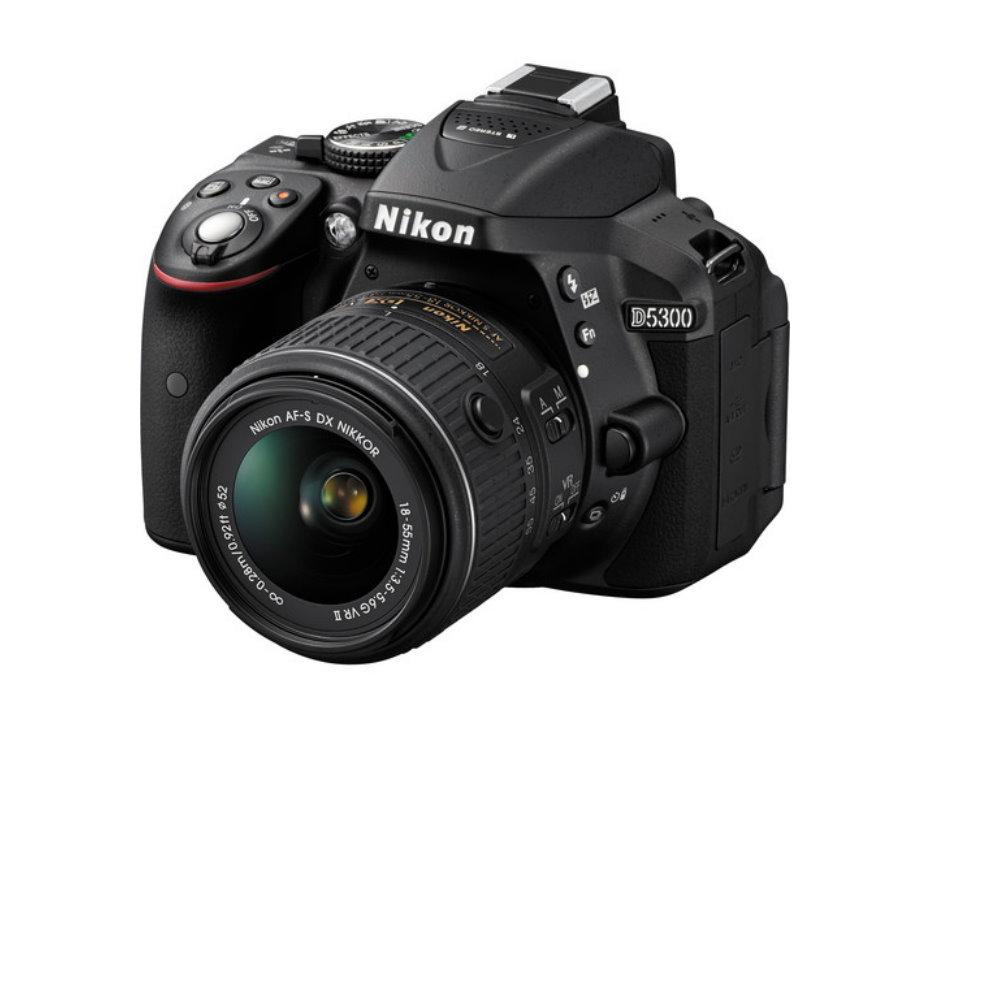 Nikon D5300 DSLR Camera with 18-55mm f/3.5 5.6G VR Lens