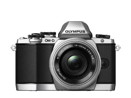 Olympus OM-D EM10 with M.Zuiko Digital ED 14-42mm 1:3.5-5.6 Lens - Silver EM10