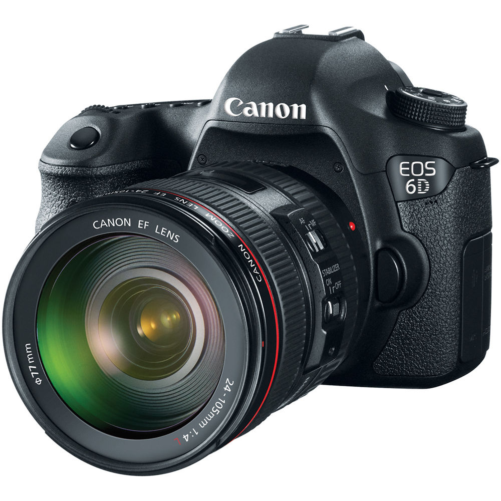 Canon EOS 6D (WG) Digital Camera with Canon 24-105mm f/4.0L IS II USM AF Lens