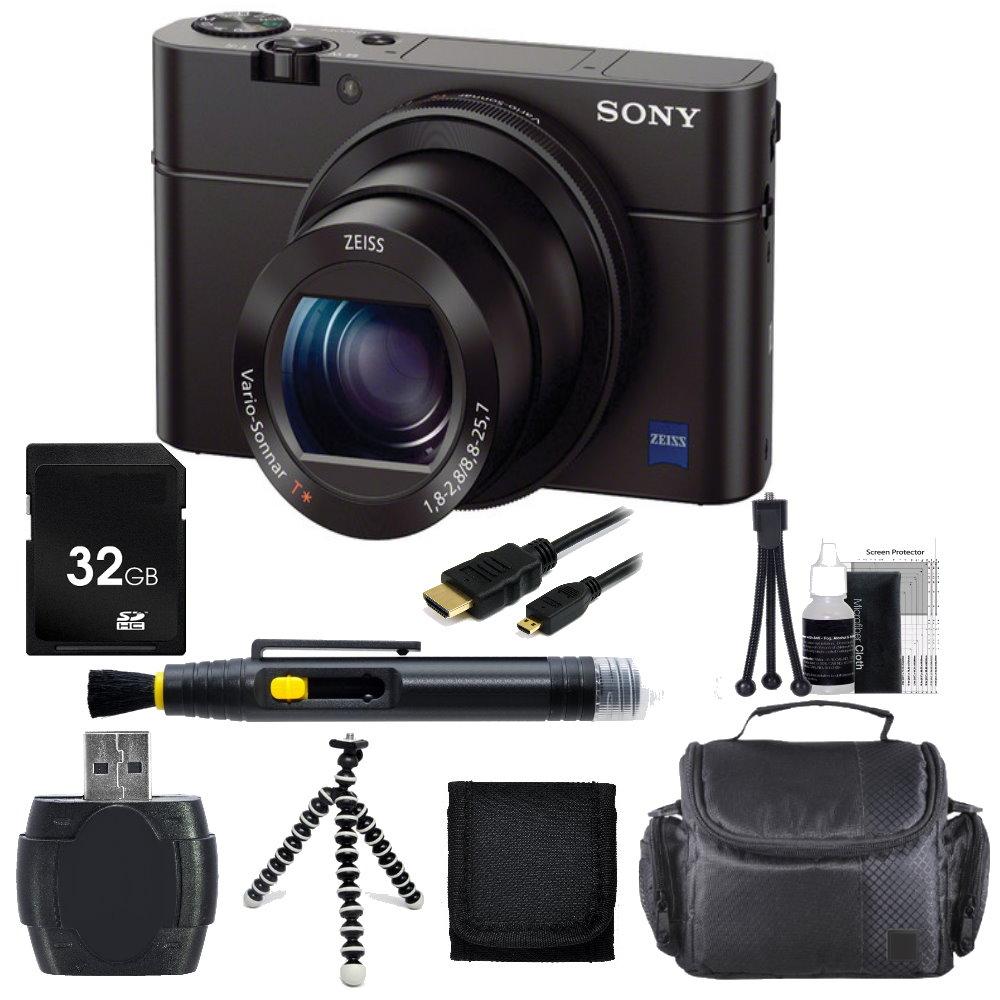 Sony Cyber-shot DSC-RX100 III Camera + Accessory Bundle