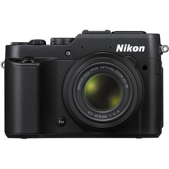 Nikon Coolpix P7800 Compact Digital Camera (12MP CMOS Sensor)
