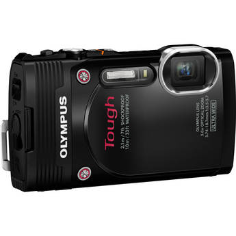 Olympus Stylus Tough TG-850 Digital Camera (Black)