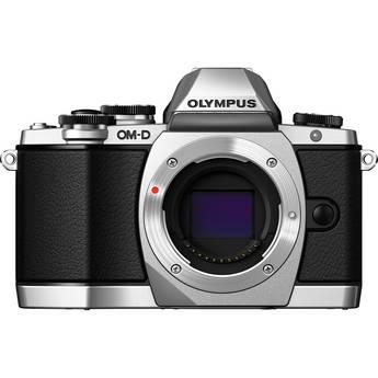 Olympus OM-D E-M10 Mirrorless Micro Four Thirds Digital Camera (Body Only Silver) (EM10)