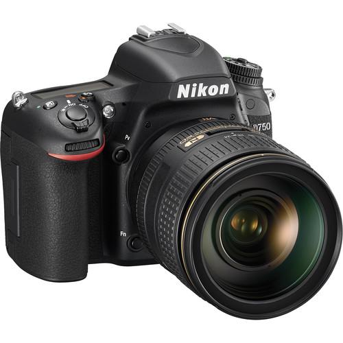 Nikon D750 DSLR Camera with 24-120mm VR Lens