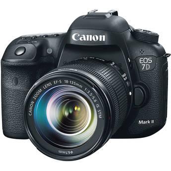 Canon EOS 7D Mark II DSLR with 18-135mm STM Lens