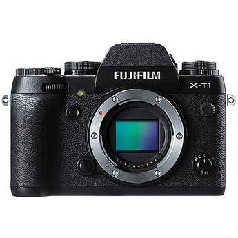 Fujifilm X-T1 Mirrorless Digital Camera (Body Only Black)