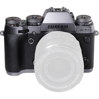 Fujifilm X-T1 Mirrorless Digital Camera (Body Only, Graphite Silver Edition)