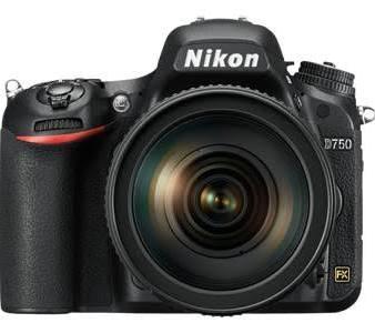 Nikon D750 DSLR Camera with AF-S 24-85mm VR Lens