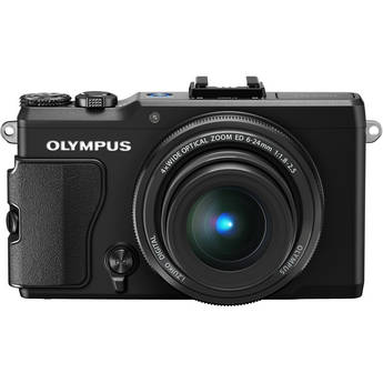 Olympus STYLUS XZ-2 iHS Digital Camera (Black)