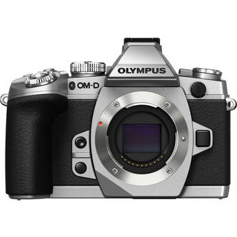Olympus OM-D E-M1 Mirrorless Micro Four Thirds Digital Camera (Silver Body Only)