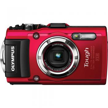 Olympus Stylus TOUGH TG-3 Digital Camera (Red)