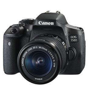 Canon EOS 750D/ T6I DSLR + 18-55mm IS STM Lens