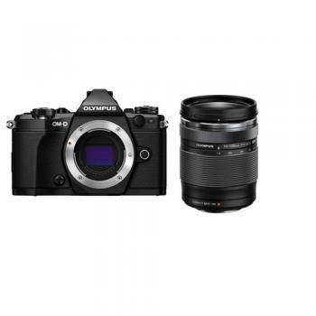 Olympus OM-D E-M5 Mark II Mirrorless Micro Four Thirds Digital Camera with 14-150mm f/4-5.6 II Lens (Black)