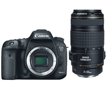 Canon EOS 7D Mark II DSLR Kit with Canon 70-300mm f/4-5.6 IS USM Lens