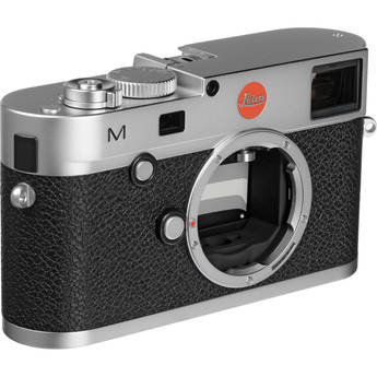 Leica M Digital Rangefinder Camera (Body Only Silver)