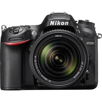 Nikon D7200 DSLR Camera with 18-140mm Lens