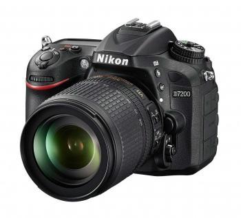 Nikon D7200 DSLR Camera with 18-105mm Lens