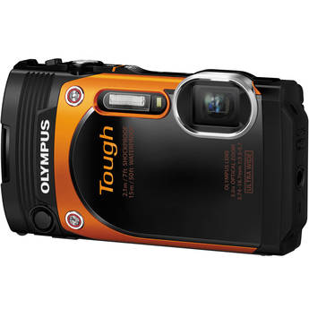Olympus Stylus Tough TG-860 Digital Camera (Orange)