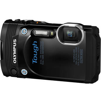 Olympus Stylus Tough TG-860 Digital Camera (Black)