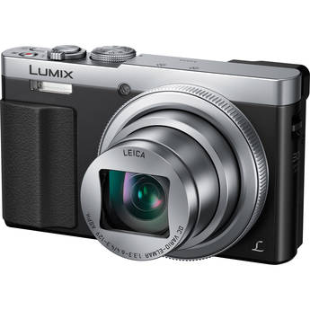 Panasonic LUMIX DMC-TZ70/ZS50 Digital Camera (Silver)