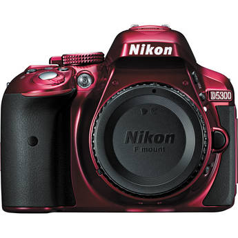 Nikon D5300 DSLR Camera (Body Only Red)