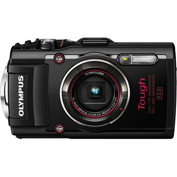 Olympus Stylus TOUGH TG-4 Digital Camera (Black)
