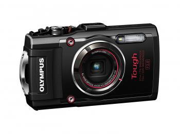 Olympus Stylus TOUGH TG-4 Digital Camera (Black) + Bundle