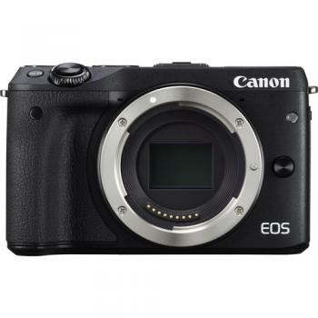 Canon EOS M3 Mirrorless Digital Camera (Body Only Black)