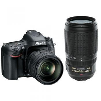 Nikon D610 DSLR Camera with 24-85mm and 70-300mm Dual Lenses