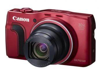 Canon PowerShot SX710 HS Digital Camera (Red)