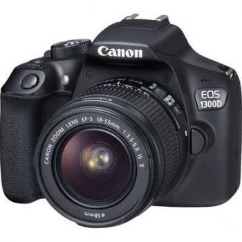 Canon EOS 1300D/T6 DSLR Camera with 18-55mm Lens