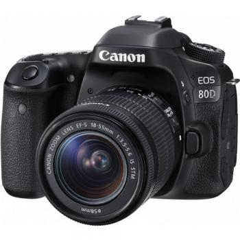Canon EOS 80D DSLR Camera with 18-55 IS STM Lens
