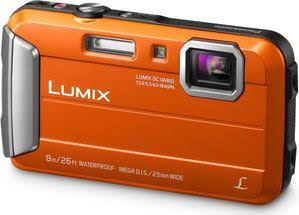 Panasonic Lumix DMC-FT30/TS30 Waterproof Digital Camera (Orange)