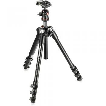 Manfrotto BeFree Compact Travel Aluminum Alloy Tripod (Black)