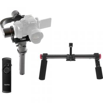 Pilotfly H2 3-Axis Gimbal Stabilizer & Two-Hand Holder Kit