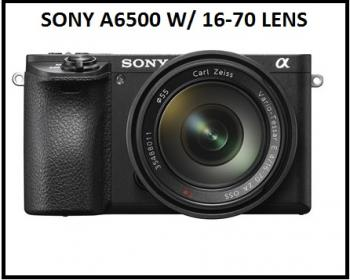 Sony Alpha a6500 Mirrorless Digital Camera with 16-70 Lens