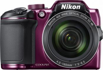 Nikon COOLPIX B500 Digital Camera (Plum)